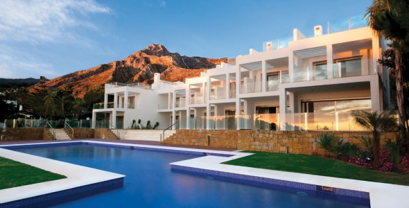 Luxury new development in exclusive area Marbella