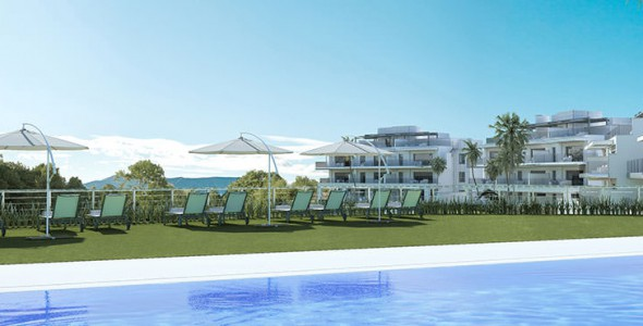 New development 2, 3 bedrooms apartments, La Cala Golf, Mijas.
