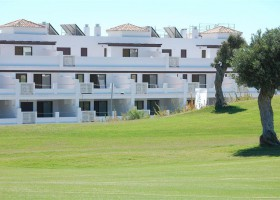Frontline golf apartment for sale in West Marbella
